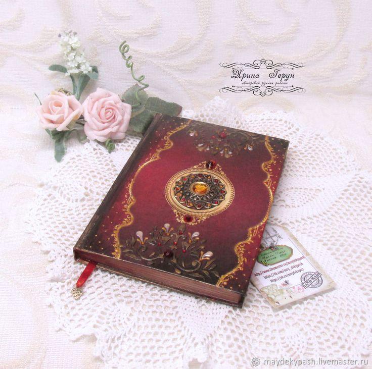 """Купить Ежедневник """"Тайна Шахерезады"""" - красный, ежедневник, подарок, подарок девушке, восток"""