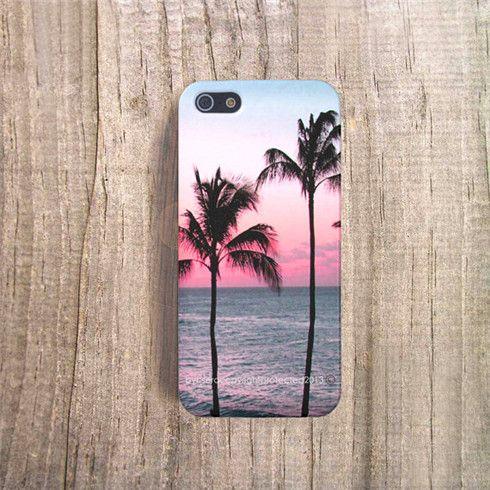 California Palm Trees iPhone Case