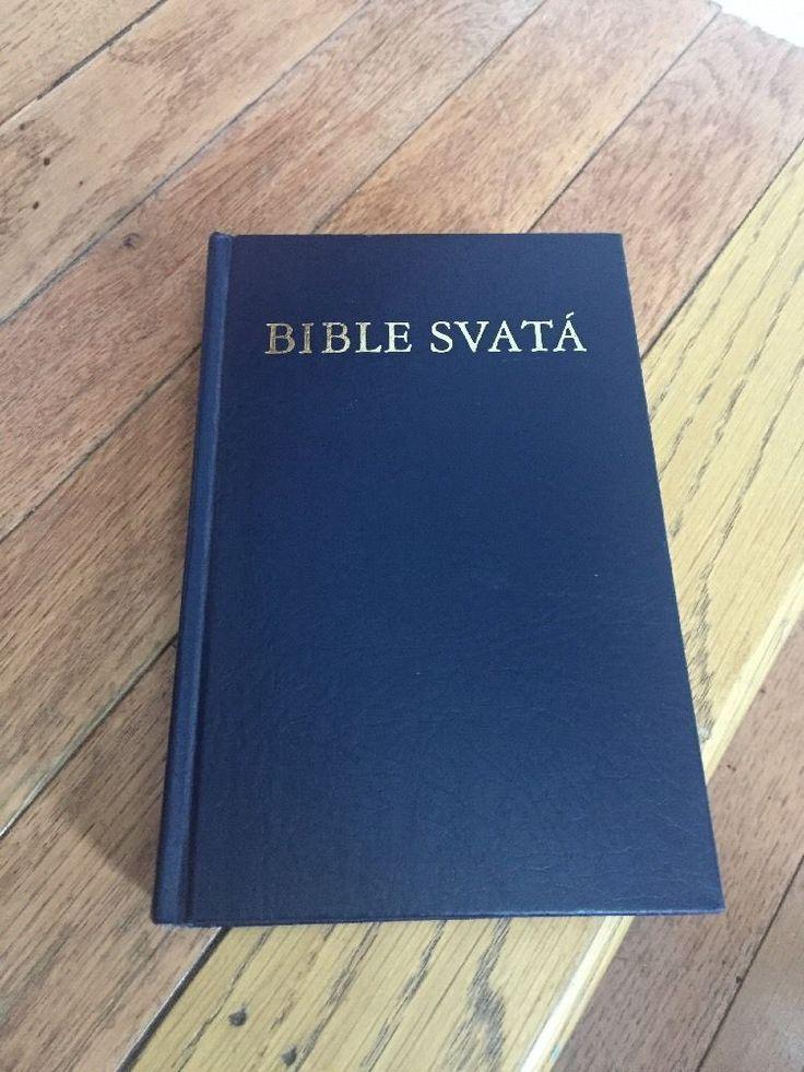 Bible Svata Czech Holy Bible KAV Translation Scriptures Republic Slovak Language
