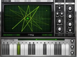 Animoog For the iOS