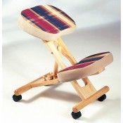 The Posture Kneeling Chair - http://www.fineback.co.uk/the-posture-kneeling-chair.html