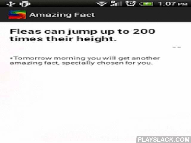Fun Facts & Amazing Knowledge  Android App - playslack.com , Fun facts & amazing knowledge daily through simple quotes. All quality facts you need to know. This science encyclopaedia facts book will give facts you should know which human dont know abt world. Get all interesting facts daily through this facts quiz or facts quotes app to brain exercises free. Facts you never know can be gained through small brain booster or brain development games facts free daily app. Get unbelievable science…
