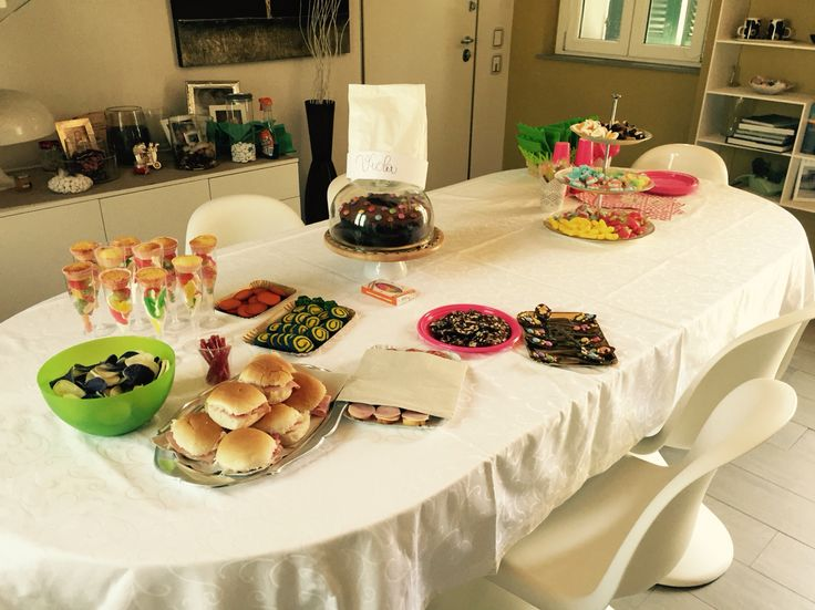 Allestimento festa Viola - Junior Bake off