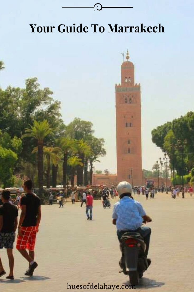 Marrakech is a vibrant city; it's intense, exotic, colourful and chaotic all at the same time.  The city is a feast for the senses, filled with culture, souks, delicious food and beautiful architecture. Make this your travel guide to Marrakech. Morroco