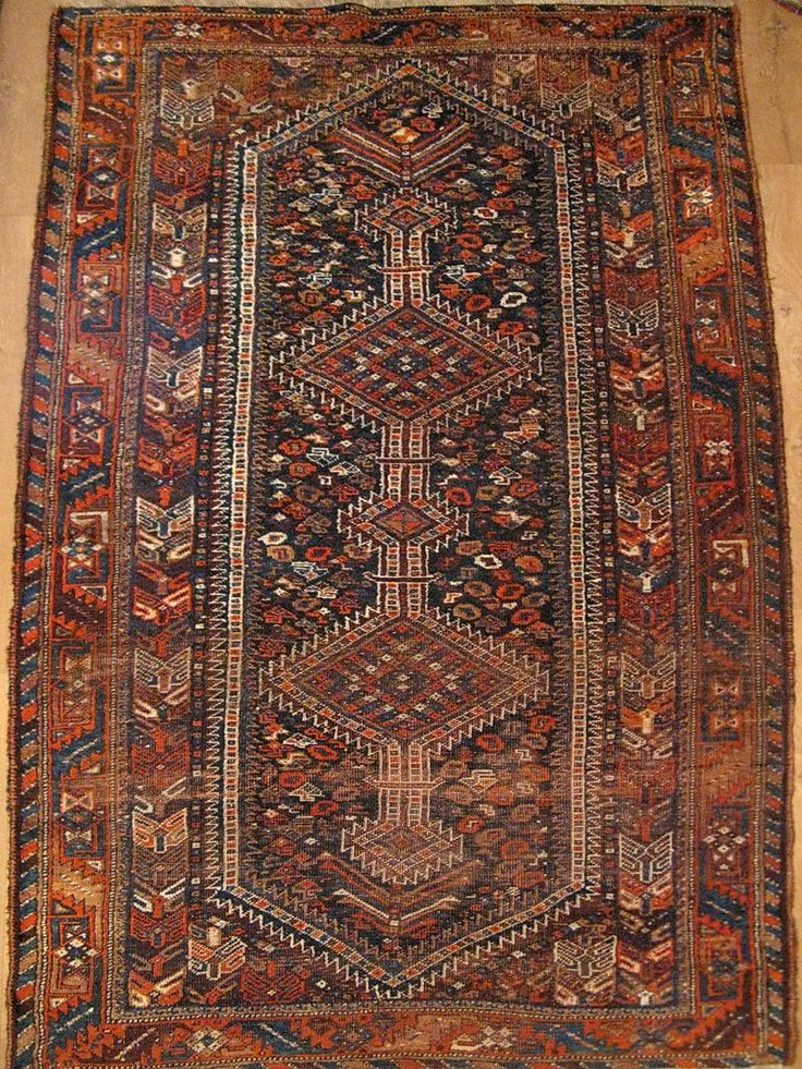 Персидский ковёр «Кашкай» 40-х годов