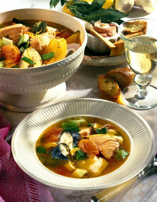 Unser beliebtes Rezept für Bouillabaisse (Französische Fischsuppe) und mehr als 55.000 weitere kostenlose Rezepte auf LECKER.de.