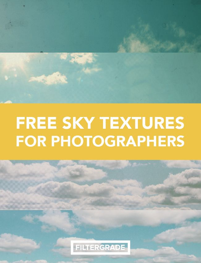 23 Great Free Sky Textures for Photographers