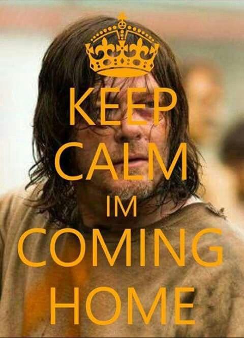 The Walking Dead, keep calm