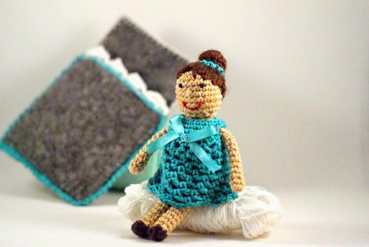 Crochet pocket doll