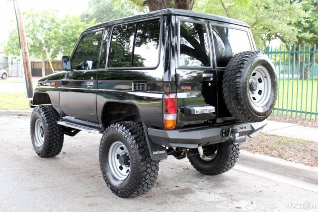 1987 toyota land cruiser lj 70 lifted 4cyl turbo diesel rust free 640 427 arb copi. Black Bedroom Furniture Sets. Home Design Ideas