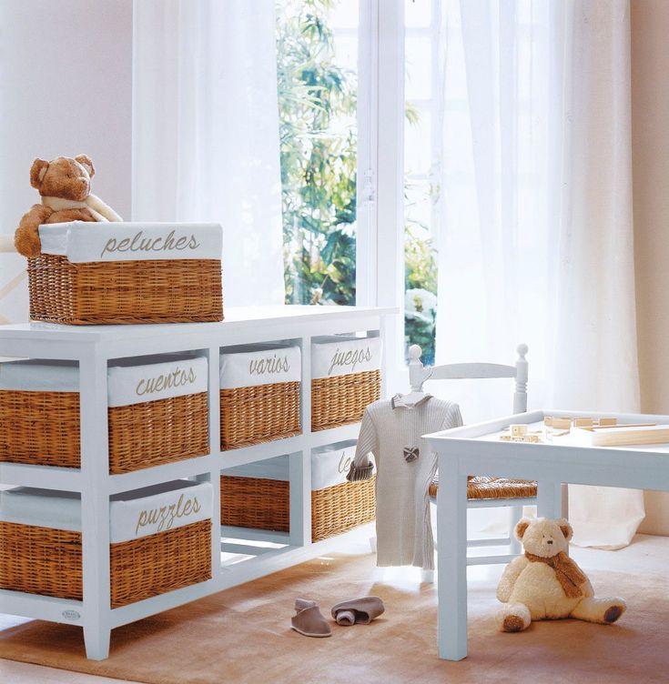 Ideas creativas para decorar su habitaci n - Cajas decoradas para bebes ...