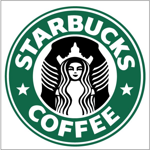 It is a picture of Irresistible Starbucks Logo Printable