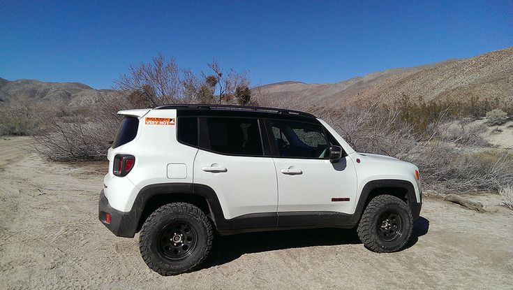 White Alpine Out and About - Page 5 - Jeep Renegade Forum