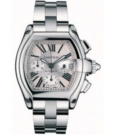 Buy Cartier Roadster Silver Ladies Watch W62016V3 Online