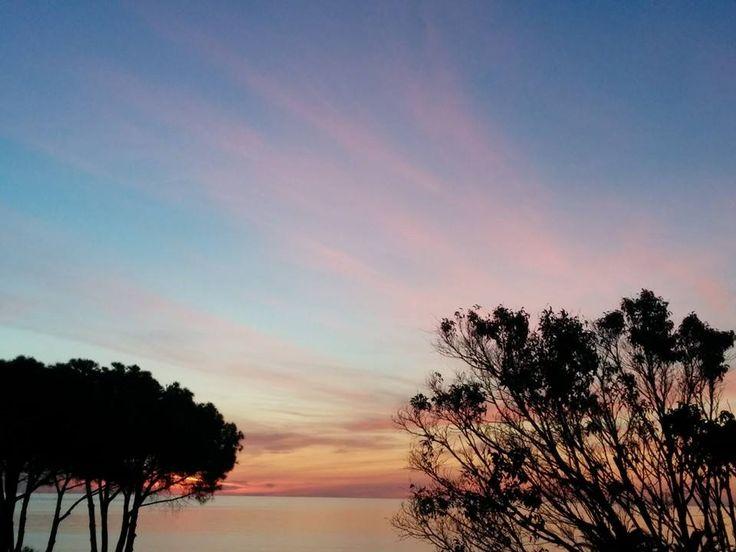 #Dawn at Hotel La Villa del Re nel Castiadas- #Costarei, #Sardegna #lavilladelre #hotel www.lavilladelre.com