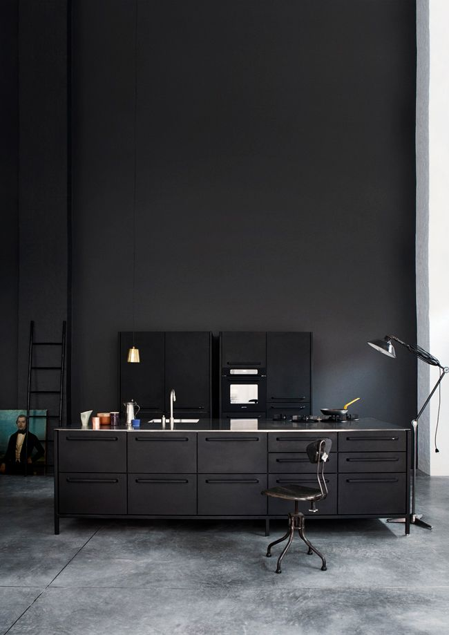 Dark & Moody Interior Inspiration by Shareen Joel Design | Featured on Sharedesign.com