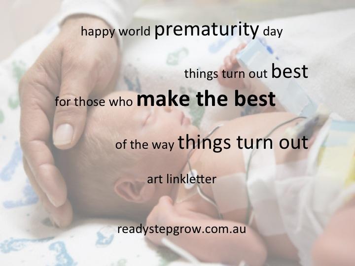 world prematurity day 2012