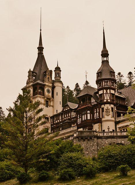 La fille au chignon | allthingseurope: Peles Castle, Romania (by...