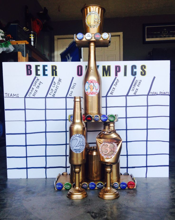 beer olympics on pinterest drinking game rules giant beer pong and