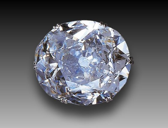 The Koh-I-Noor Diamond, one of the most famous diamond