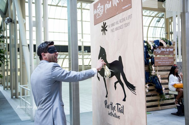 """DY.o events (aka Duo)  """"Pin the tail on the horse"""" game - off the field entertainment."""