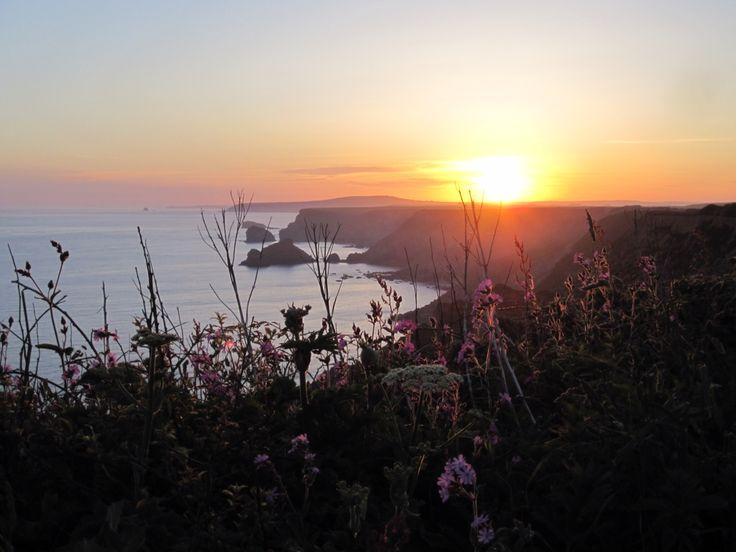 Zonsopgang in Cornwall