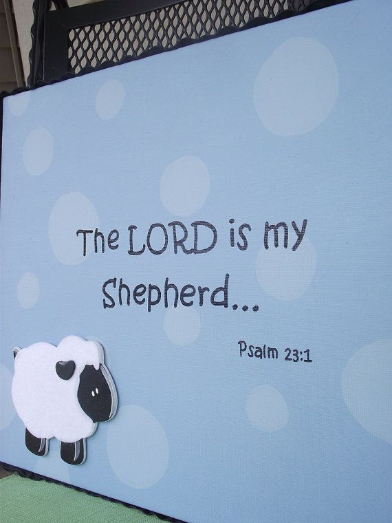 Canvas Painting with Polka Dots Bible Verse by MyNewestObsession, $25.99