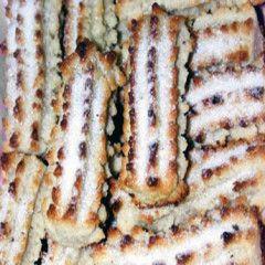 Biscotti ricci di mandorla   Dolci Siciliani