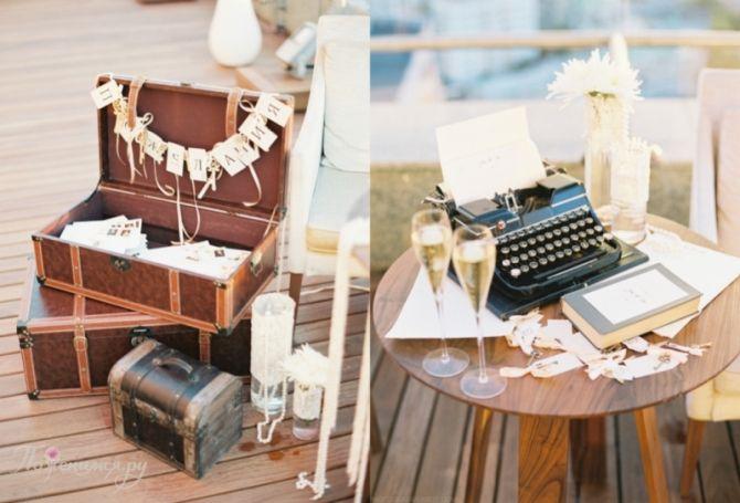 vintaje wedding details