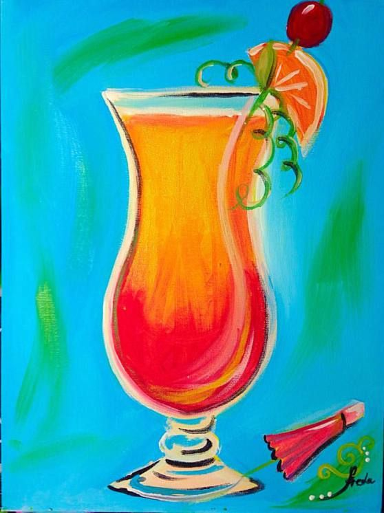 Painting party Langley BC June 17 7-9pm