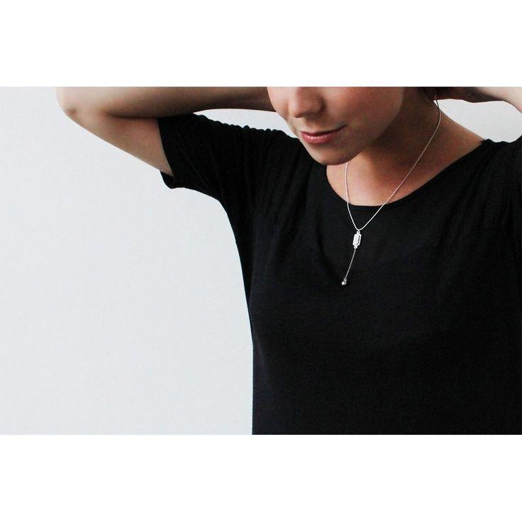 NOVA (Blanc) — Collier – Bijoux Pépine — Handmade Fashion Jewelry, Montreal