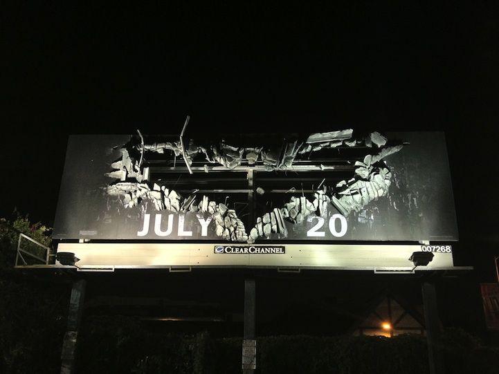 New 3D Dark Knight Rises Billboard is Awesome!: Dark Night, The Dark Knights, Rise Billboard, Knights Rise, Advertising, Darkknight, Movie, Batman Billboard, Ads
