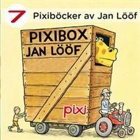 Pixibox: Jan Lööf - Jan Lööf - böcker(9789163883620) | Adlibris Bokhandel