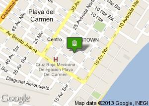 hotel, Playa del Carmen