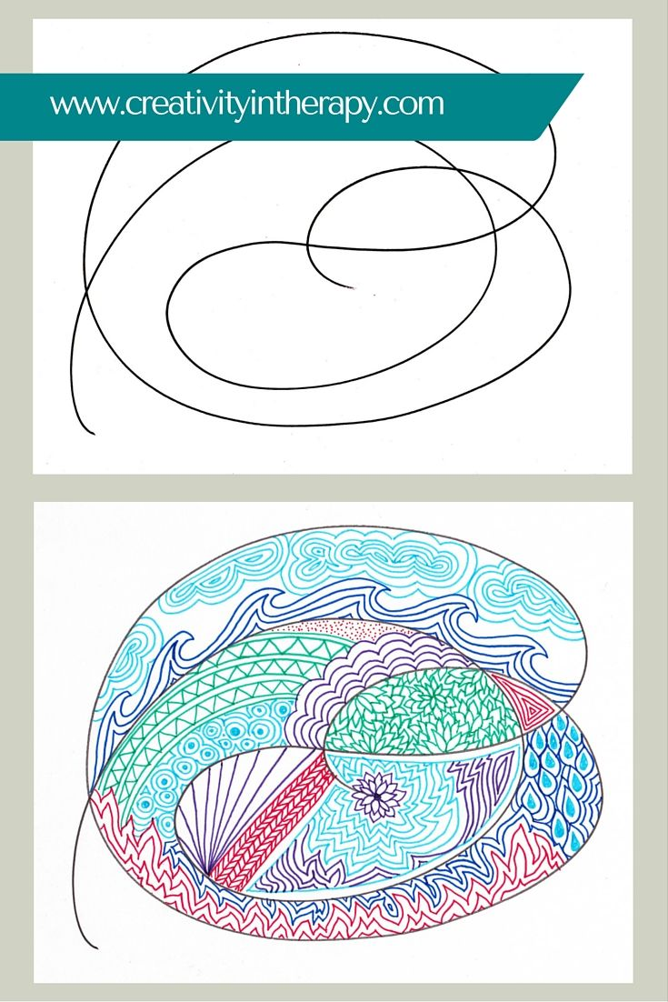17 best group play therapy images on pinterest art therapy creativity in therapy scribble swap art directive for group therapy toneelgroepblik Gallery