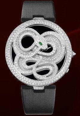 Cartier Snake gemstone watch