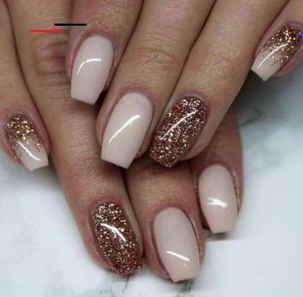 57 ideas for nails brown shellac in 2020  sns nails