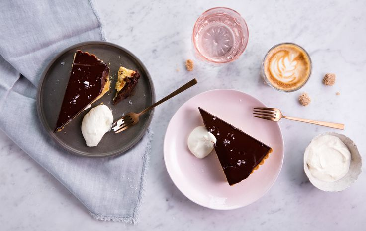 Chocolate & salted caramel tart from our Spring Summer Menu 2016
