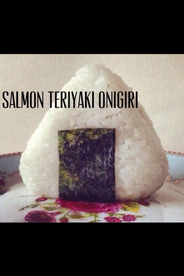 How to Make Teriyaki Salmon Onigiri