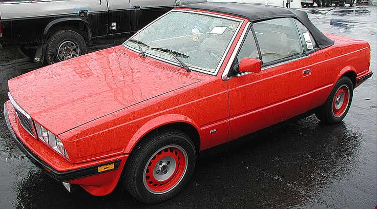 Maserati Spyder / Spyder (2500) (1984-1988)