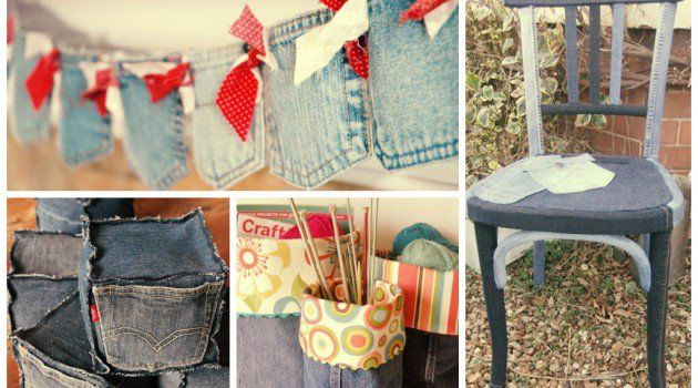 Very often you ask yourselves what to do with the old jeans. There are a lot of creative ways what to do with them. We present you 20 cool ideas how to reu
