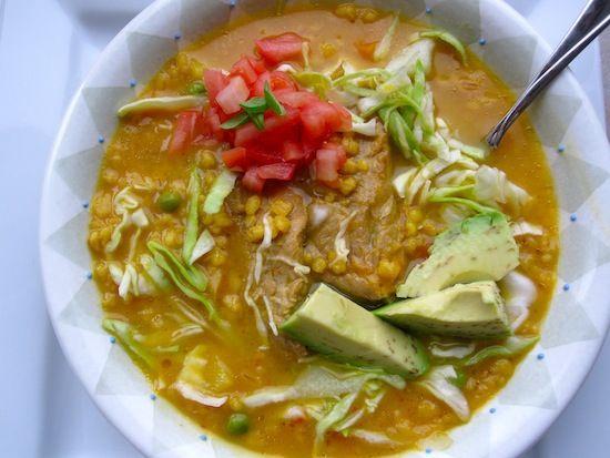 Cuchuco de Cebada (Colombian-Barley and Pork Soup)