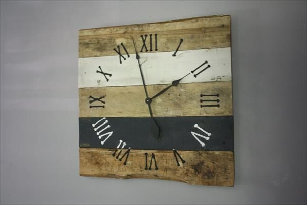 DIY Antique Pallet Wall Clock | Pallet Furniture DIY