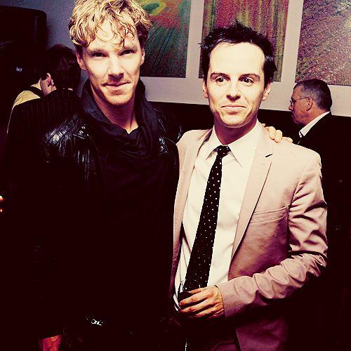 Benedict Cumberbatch and Andrew Scott were BFFs at the ...  |Andrew Scott And Benedict Cumberbatch In Pajamas
