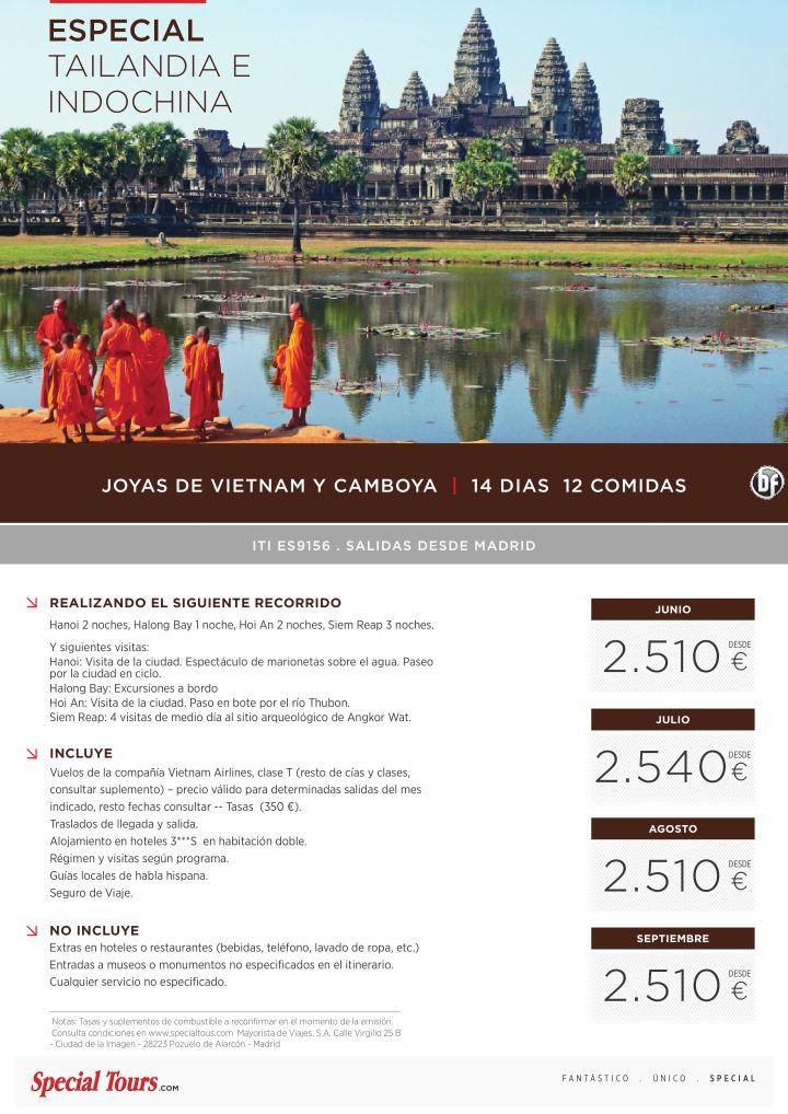 Joyas de Vietnam y Camboya ITI. ES9156 salidas desde MAD (14 días/12 comidas) ultimo minuto - http://zocotours.com/joyas-de-vietnam-y-camboya-iti-es9156-salidas-desde-mad-14-dias12-comidas-ultimo-minuto/