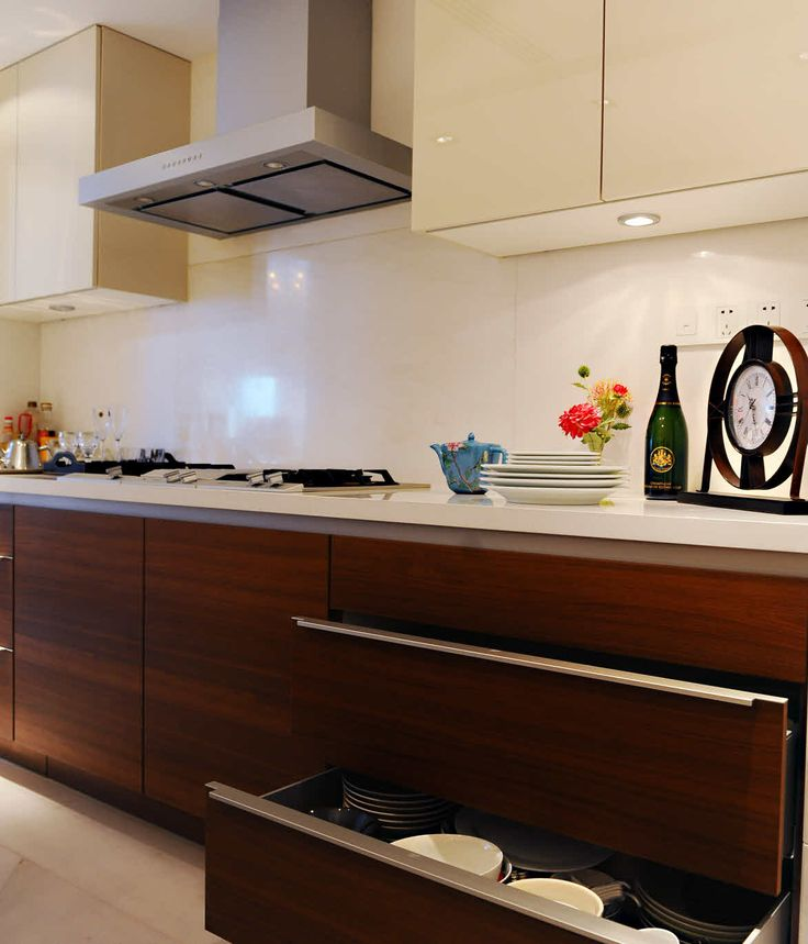 According to Shui On land, the finished kitchen features advanced technology and clean, sophisticated lines. Most important of all, they are...
