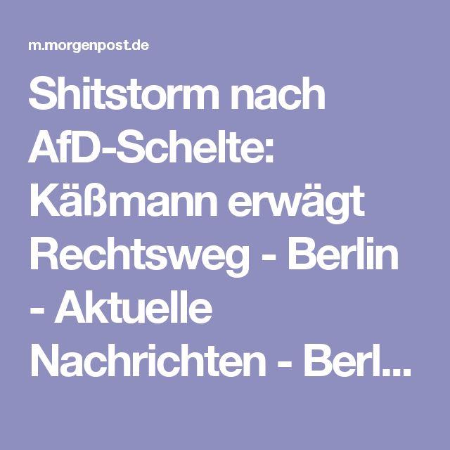 Shitstorm nach AfD-Schelte: Käßmann erwägt Rechtsweg - Berlin - Aktuelle Nachrichten  - Berliner Morgenpost