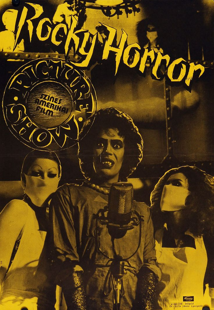 Rocky Horror Picture Show (1975) Hungarian vintage movie poster