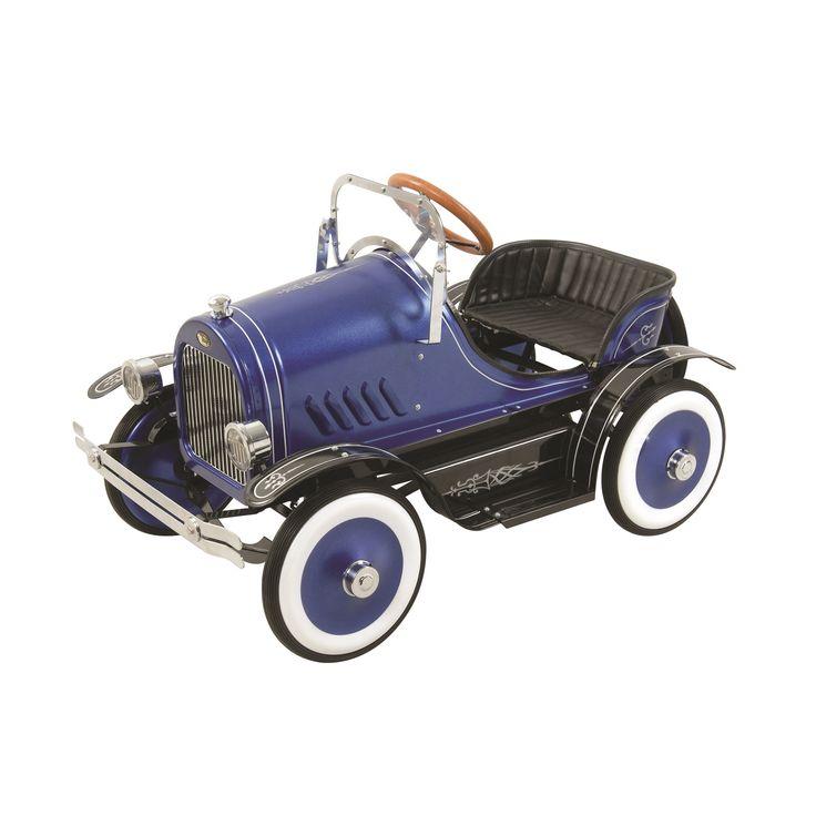 Blue Roadster Pedal Car