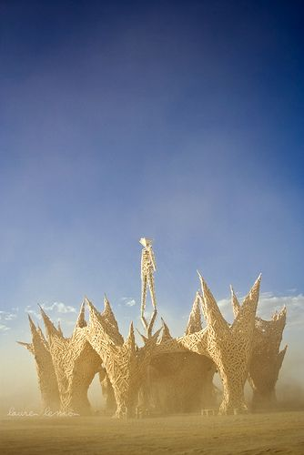 Burning Man, Black Rock Desert, Nevada by Lauren Randolph